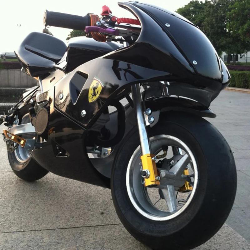 YK-Mini motorcycle 49cc small sports car race(China (Mainland))