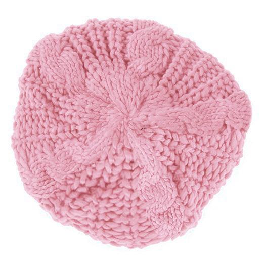 Гаджет  Good deal! New Women Baggy Beret Chunky Knit Knitted Braided Beanie Hat Ski Cap Pink None Изготовление под заказ