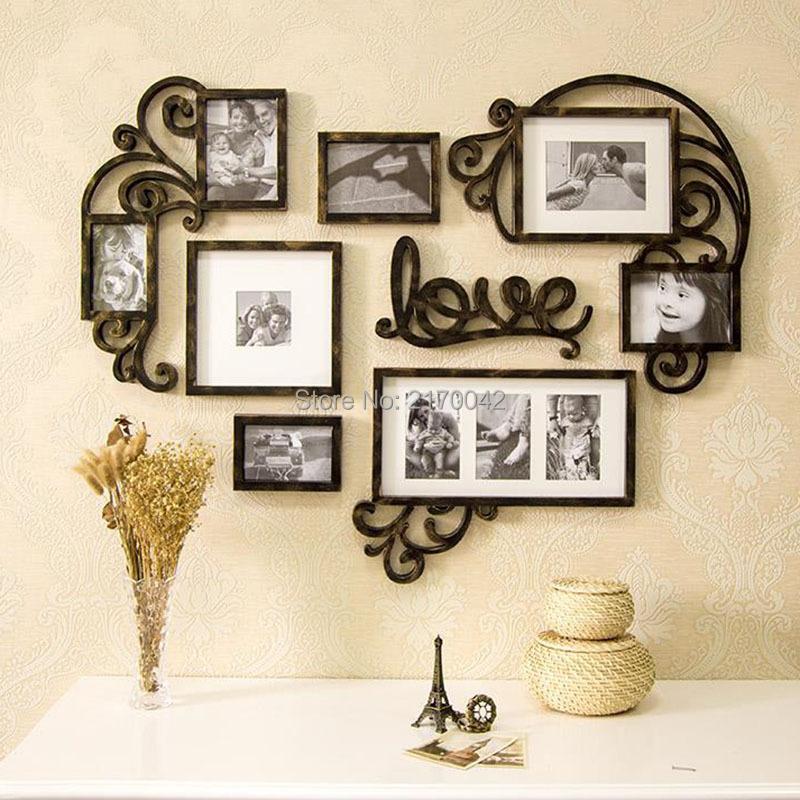 Как сделать коллаж из фото в рамке на стену