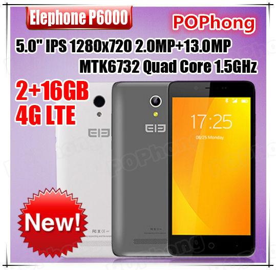 Мобильный телефон Elephone P6000 F 5.0 P6000 MTK6732 2 16 ROM 13,0 MP 4G 3G WCDMA 你好 法语4 学生用书 配cd rom光盘