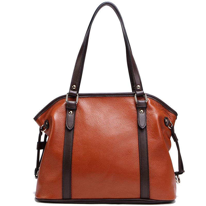 Фотография Vintage fashion real cowhide women handbags high quality genuine leather women crossbody messenger bags female shoulder bag