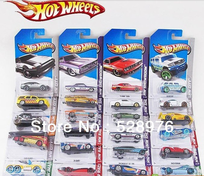 Hot Wheels Small Sports Car Frighteningly Hot Toy Car Auto Cars by Mattel-in Diecasts & Toy