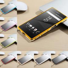 "Buy Sony Xperia Z5 Bumper Case Highlight Metal Frame Case Cover Sony Xperia Z 5 E6603 E6633 E6653 / Z5 Dual E6683 5.2"" for $11.99 in AliExpress store"