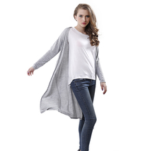 Women casual Sweet gray black Crochet Knitted Blouse Long-sleeve Tops Women long Sweaters Cardigans(China (Mainland))
