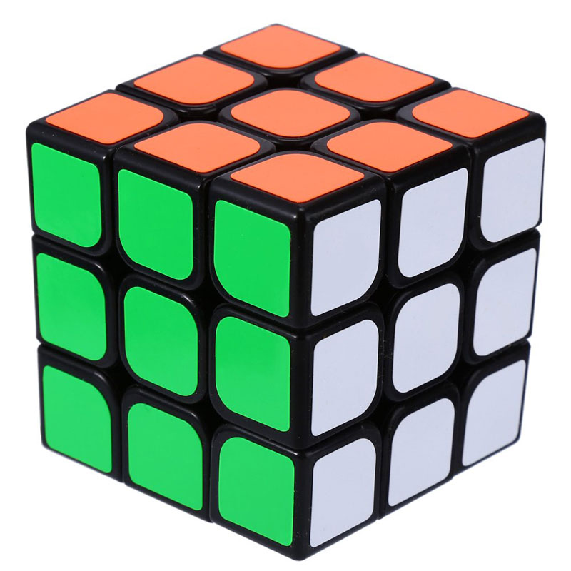 Free Shipping 3x3x3 Three Layers Cube Puzzle Toy Cubo Magico 3x3x3 Profissional Black & White Colors Neo Cube Toys For Children(China (Mainland))