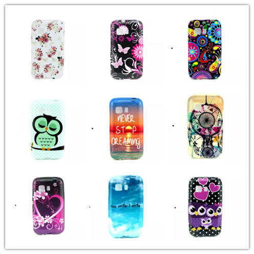 Amazing Vogue Design Plastic Soft TPU Phone Cases For Samsung Galaxy Young 2 G130 Silicone Cover(China (Mainland))