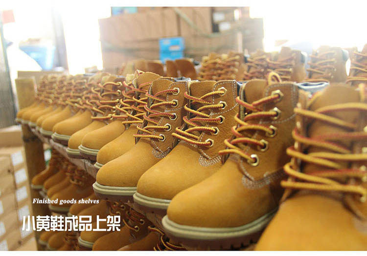 2016 High-grade children shoes genuine leather baby boys shoes martin boots waterproof breathable Lace-Up Ankle kids girls shoes