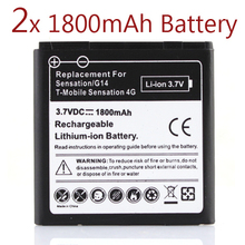 2 x 1800Mah Battery For HTC EVO 3D Sensation G17 Z710e Commercial Bateria For HTC G14,Sensation HTC G17,Z710e HTC Shooter(China (Mainland))