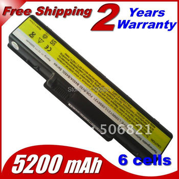 4400mah 11.1v Replacement battery laptop Battery For LENOVO B450 B450A B450L L09M6Y21 L09S6Y21