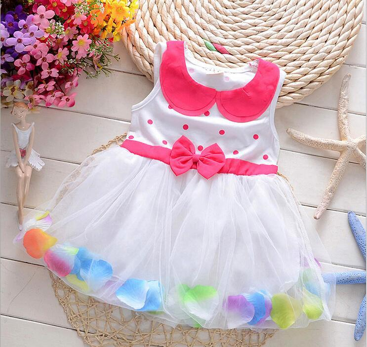 2015 new summer baby girls dress kids girls party princess lace flower dresses kids clothes Fashion Casual clothes infant girls<br><br>Aliexpress