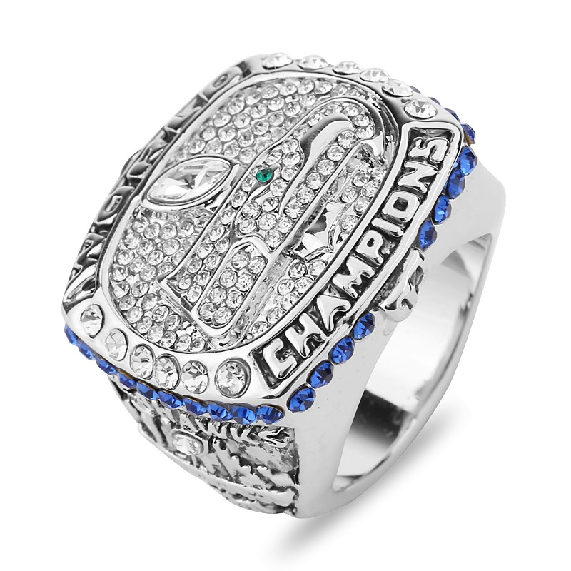 2013 Seattle Seahawks Football Super Bowl Championship Rings Top Grade Luxury Crystal Classic Souvenir Steampunk Gothic Men Ring(China (Mainland))