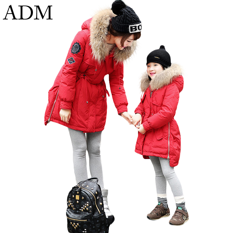 ADM 2015 Brand Winter Down Jackets Thickened Slim Medium Length Big Fur Parka Womens Winter Jackets and Coats Plus Size XS-LОдежда и ак�е��уары<br><br><br>Aliexpress
