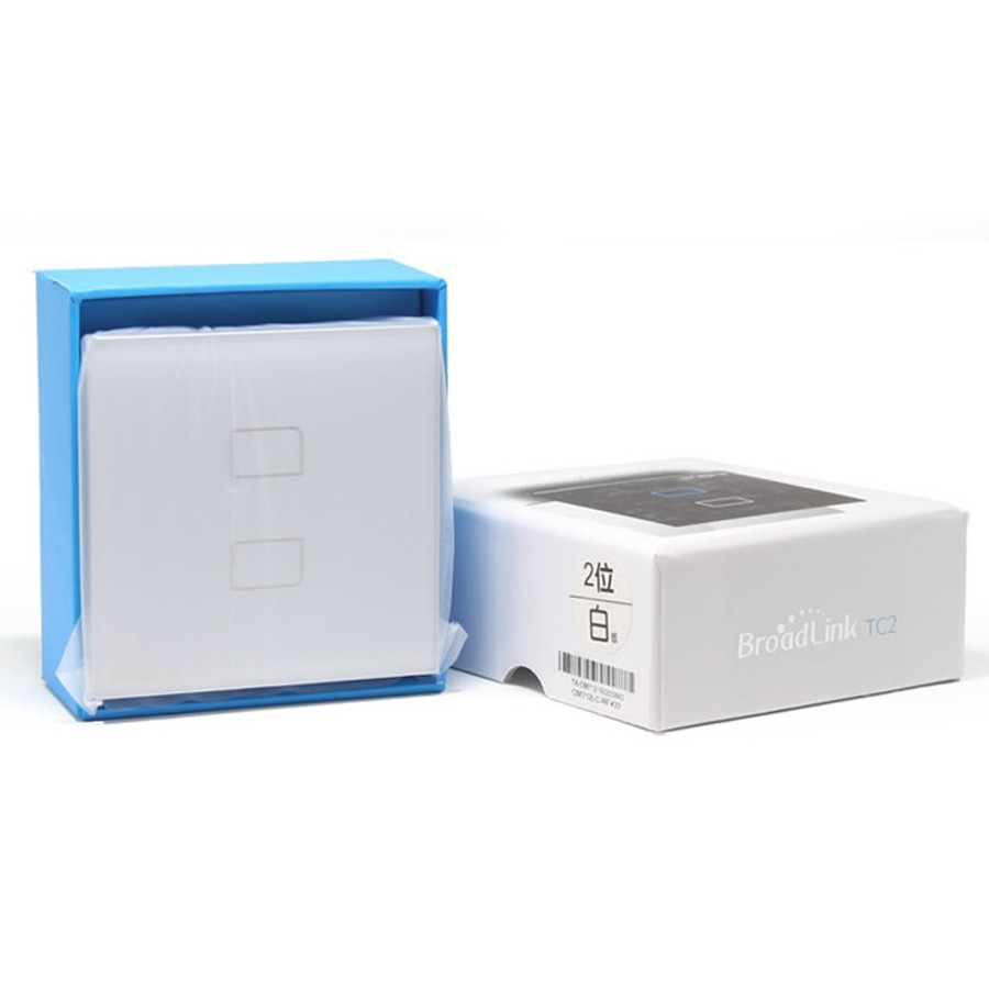 Broadlink TC2 1/2/3Gang Touch Switch UK Standard RF433 Wireless Wall Switch Smart Home Automation Wifi Control Lamp Light Switch