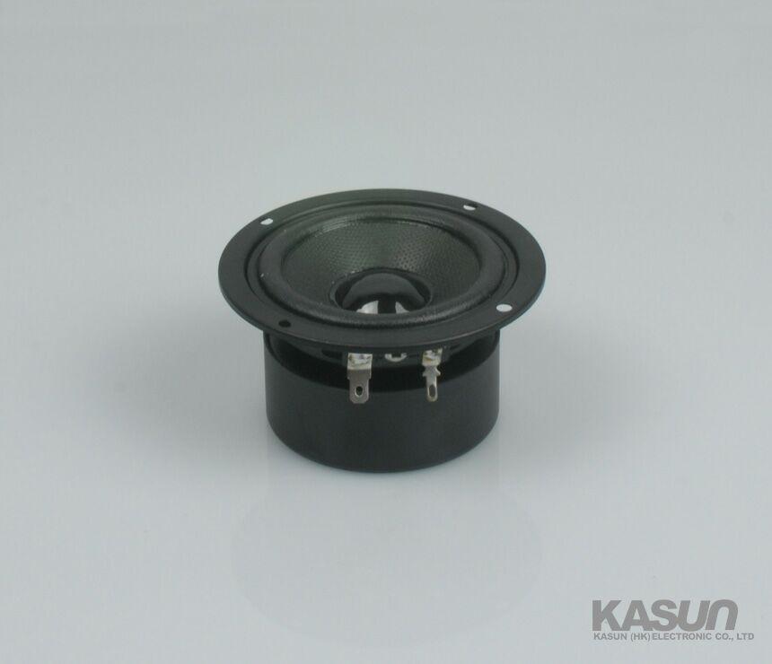 2015 new KASUN AV-3305F full-range magnetically shielded speakers 3 inch treble/mid/bass speaker 60W 4 ohm for hifi amplifier(China (Mainland))