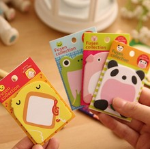 2015 New Arrival Brand New Free Shipping Hot Sales Cute Lovely Animals Memo Pad Sticky Note Memo Sticker Note Label Paper