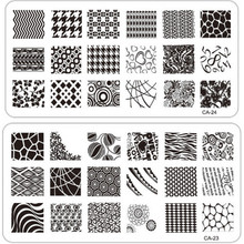 1 x Fashion DIY Polish Beauty Nail Art Image Stamp Stamping Plates 3D Nail Art Templates Stencils Manicure Tools CA17 -32(China (Mainland))