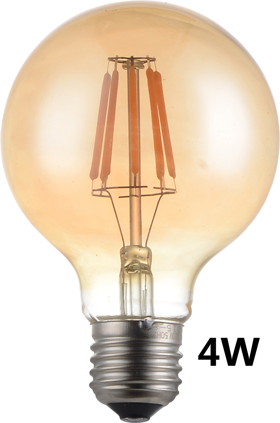 g95 led 4w gold filament bulb e27 led filament light 220v vintage edison bulb lamp retro. Black Bedroom Furniture Sets. Home Design Ideas