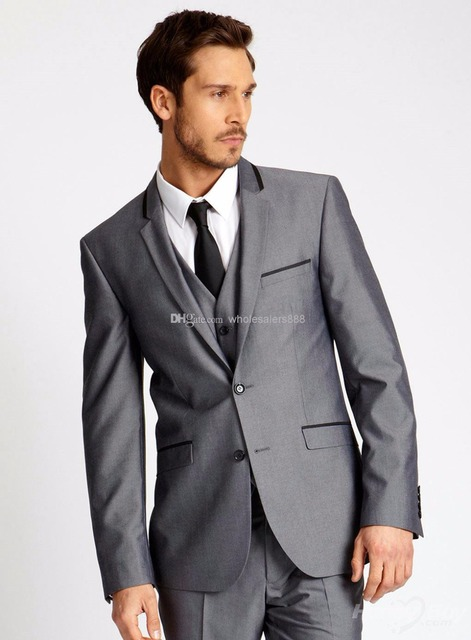 Beautiful Summer dresses blog: Black tie attire grey suit