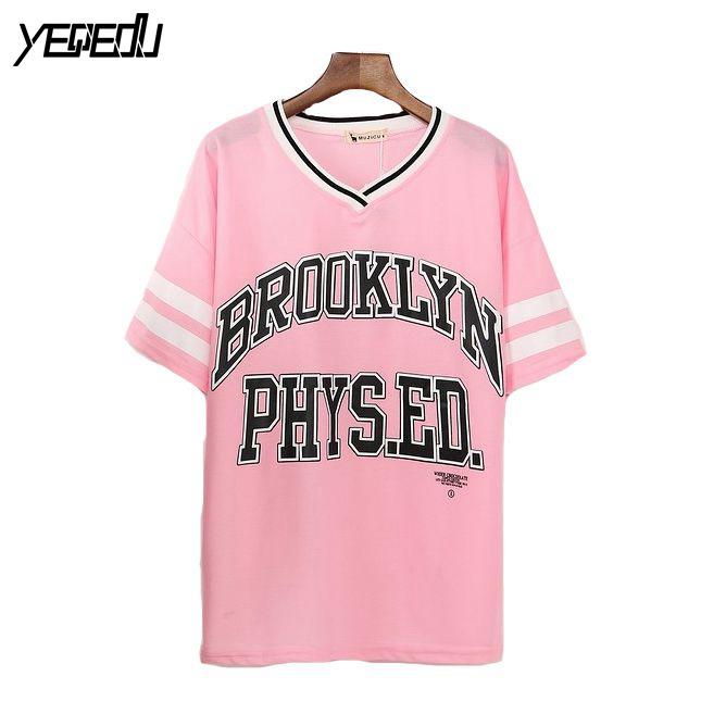online kaufen gro handel damen baseball shirt aus china damen baseball shirt gro h ndler. Black Bedroom Furniture Sets. Home Design Ideas