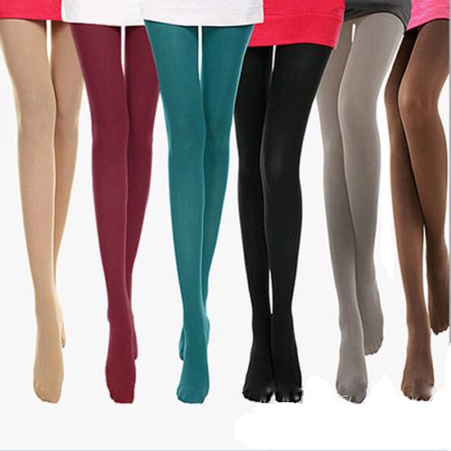 Susan' 1 Pair NEW Beauty 8 Colors Opaque Footed Tights Sexy Pantyhose Leg Warmers for Women Lady Girl
