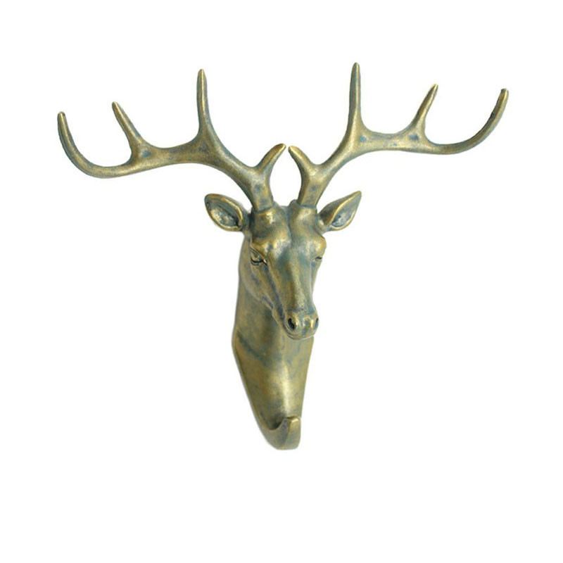 New-ELK-Animals-decoration-hook-fashion-three-dimensional-resin-hooks-creative-home-accessories-robe-hook-living2