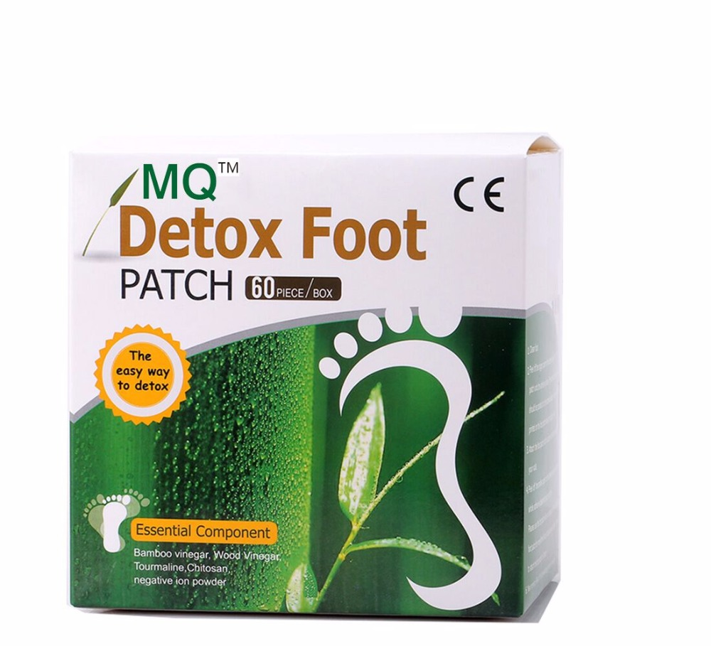 120 Piece=60pcs Patches+60 pcs Adhesives Detox Foot Patch Bamboo Vinegar Pads Improve Sleep Beauty Slimming Patch(China (Mainland))
