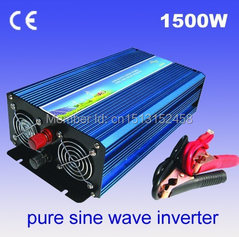 1500W pure Invertor, pure sine wave Invertor, 24vdc to 220vac power Invertor, 2years warranty(China (Mainland))