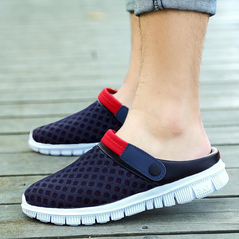 Men Sandals Men Flip Flops Men's Casual Shoes Beach Slippers Lazy Shoes Sandales Femme 2016 Summer slippers Brand Sandals(China (Mainland))