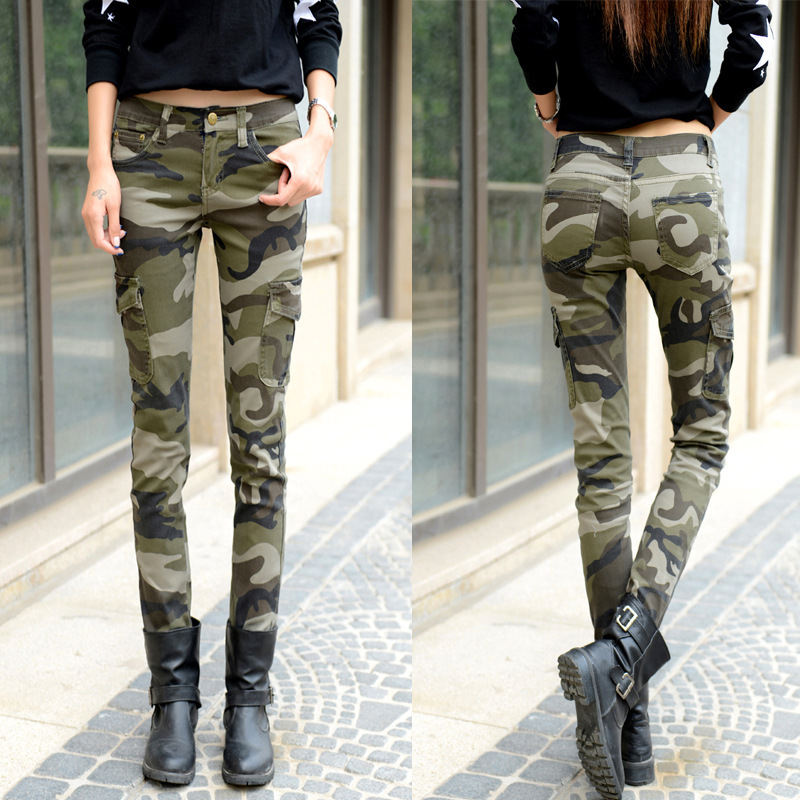 Luxury 2013 Return Of Camo Cargo Pants To The Fashion World