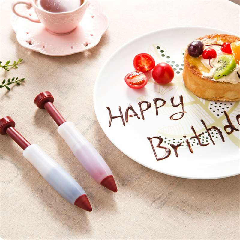 Aliexpress.com : Buy 1pc Silicone Cake Decorating Pen ...