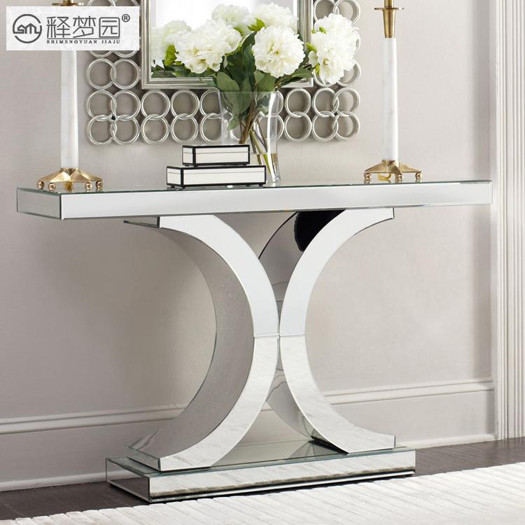 interpretation der tr ume park konsolen tisch spiegel glas. Black Bedroom Furniture Sets. Home Design Ideas