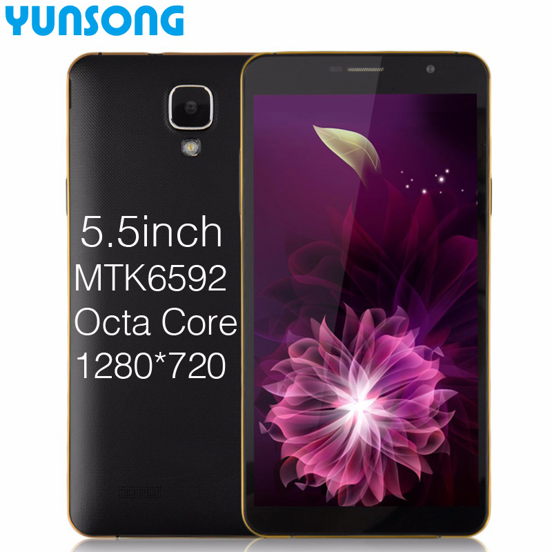 Original cell phones Octa Core MTK6592 telephone mobile phones 5.5 Inch 8.0MP smart phone celular Android cellulare mobile(China (Mainland))