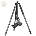 Q666 QZSD Q999 Professional Photographic Portable Tripods Pro SLR Digital Camera Aluminium Tripod For Travelling Free