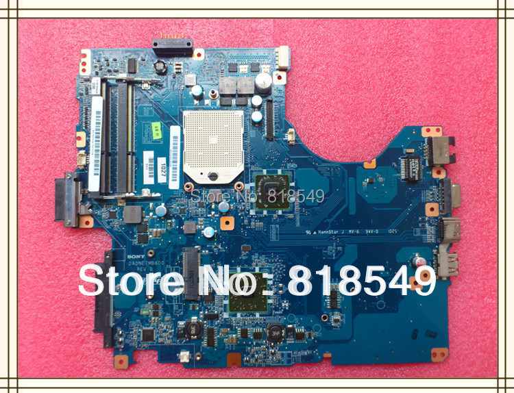 For sony A1784741A PCG61611M DA0NE7MB6D0 system Mainboard 100% Tested working on sale(China (Mainland))