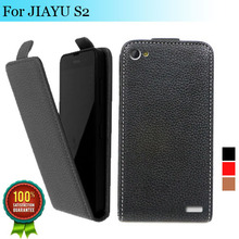 Factory price , Top quality new style flip PU leather case open up and down for JIAYU S2, gift