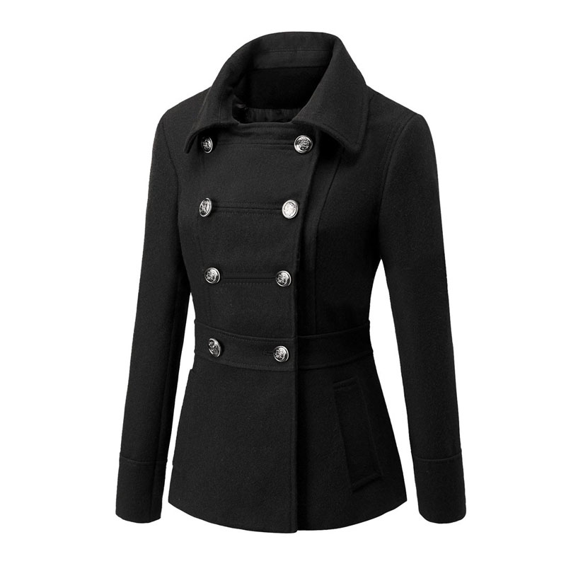 2015 European Style Winter Coats For Women Winter Cotton Jackets Cheap Womens Winter Jackets and Coats Lady Clothing XXL S406