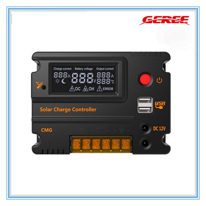 Солнечный контроллер Geree cmg/2420 12V/24V 1pcs/lot MP003 солнечный контроллер geree cmg 2420 12v 24v 1pcs lot mp003