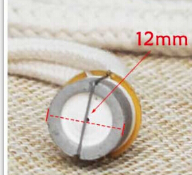 FREE SHIPPING 12mm diameter Small SIZE lamp wick for aromatherapy essential oil burner(China (Mainland))