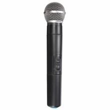 El mejor Precio de Doble Sistema de Micrófono Inalámbrico de Mano Profesional de Micrófono Inalámbrico Micrófono de Karaoke KTV