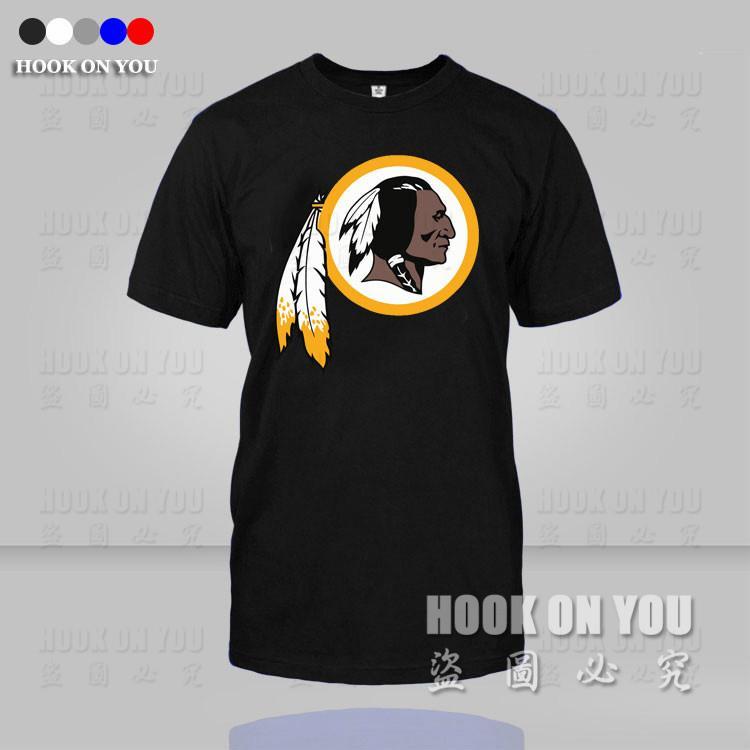 American football Washington team print Tees Sport Men T Shirt mens t shirts fashion 2015 camisetas camisa masculina(China (Mainland))