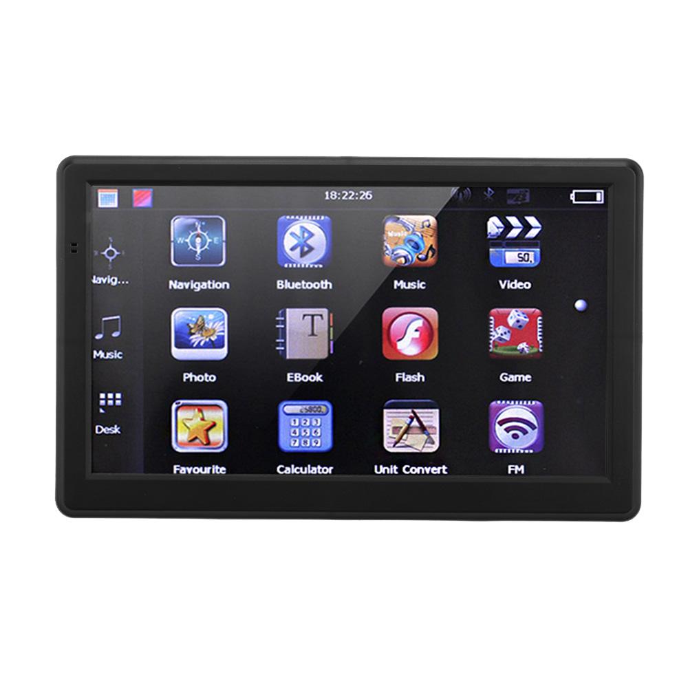 "Australia Map 7"" HD Touch Screen Bluetooth Car GPS Navigation 128MB RAM 4GB ROM Multi-language English/French/Russian/Italian(China (Mainland))"