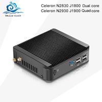 mini pc for intel celeron N2830 N2930 J1800 J1900 usb 3.0 hami+vga Com