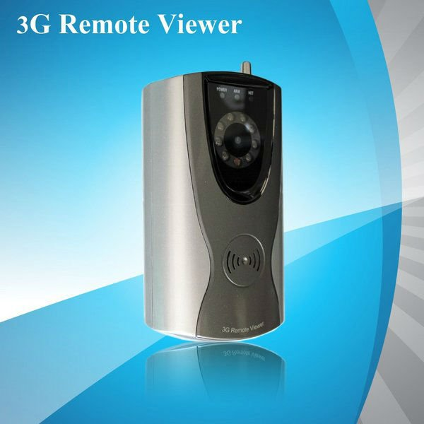 DHL Free Shipping, WCDMA 3G Alarm System (3G Remote Viewer) Wireless, Integration Day & Night Camera with IR LED(China (Mainland))
