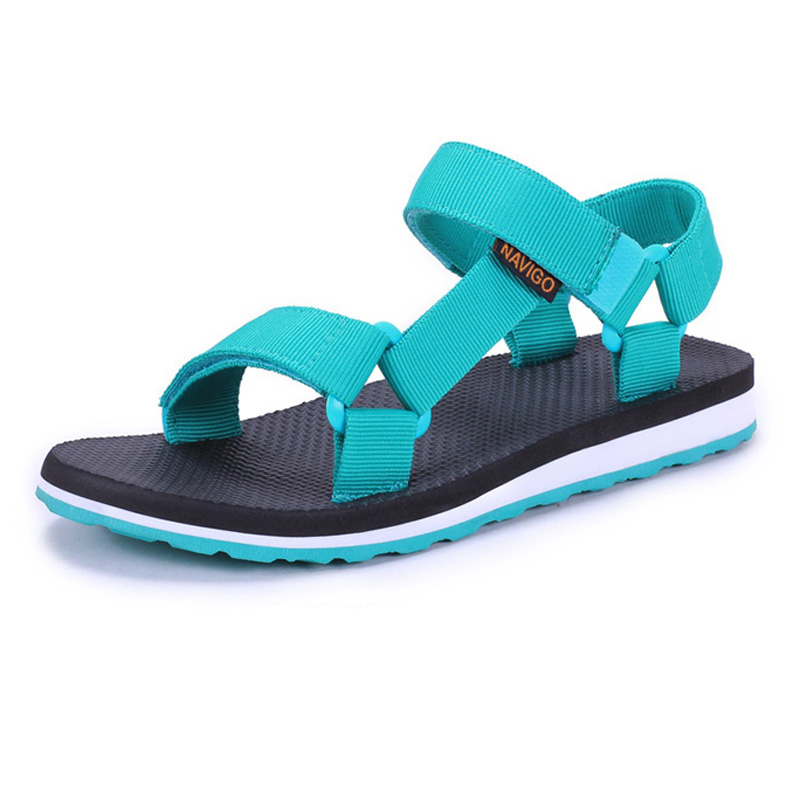 Fashion Summer 2016 Women Sandals Vercro Rubber Sole Vetnam Shoes Woman Sandalias Non-slip Outdoor Beach Shoes