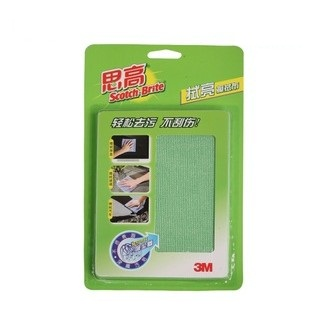 Scotch 3m cleaning cloth car tv computer mobile phone screen clean 30 32 green big(China (Mainland))