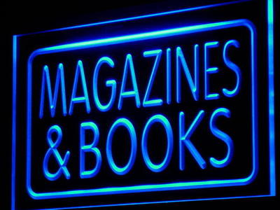 i832-b Magazines & Books Shop Display Decor Neon Light Sign(China (Mainland))