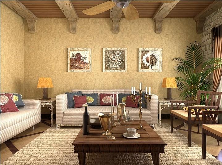 Decoracion Italiana Rustica ~ decorazione della casa rustica texture carta da parati muro italiana