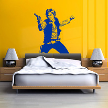 STAR WARS HAN SOLO vinyl wall art decal sticker room decal sci-fi movie