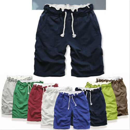 High quality 2015, the latest Korean fashion casual loose men summer capri shorts colorful 8 colors in 013(China (Mainland))