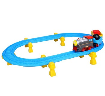 Thomas Electric Train Railway Track Toy Play Set Wheelies Connect